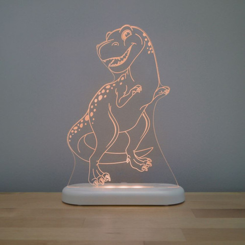 Aloka Night Light T Rex Dinosaur  Brown