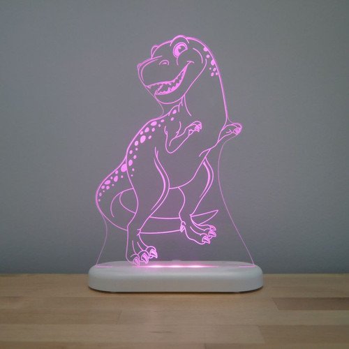 Aloka Night Light T Rex Dinosaur Pink