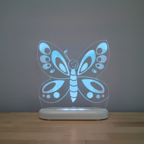 Aloka Night Light Butterfly Turquoise