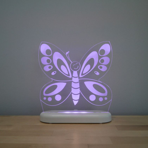 Aloka Night Light Butterfly Purple