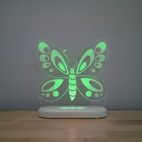 Aloka Night Light Butterfly Green