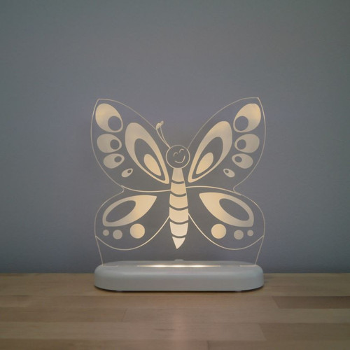 Aloka Night Light Butterfly Beige