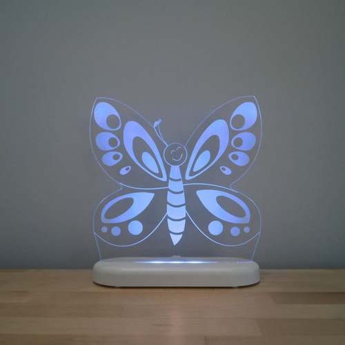 Aloka Night Light Butterfly Blue