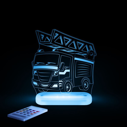 Aloka Lights Fire Engine Blue