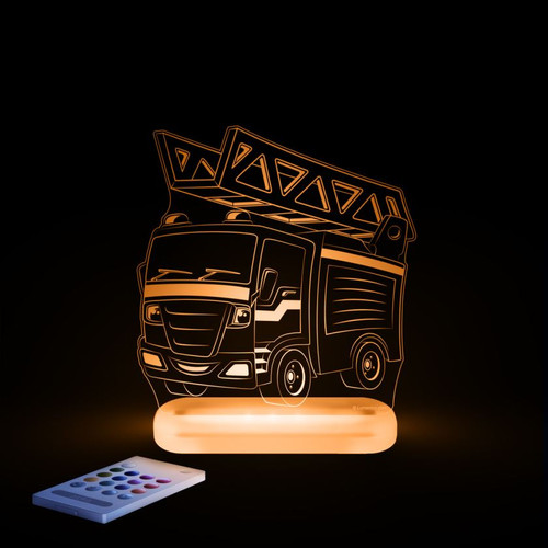 Aloka Lights Fire Engine Orange