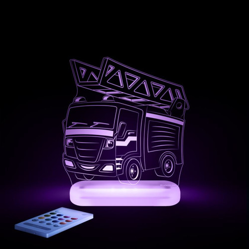 Aloka Lights Fire Engine Purple