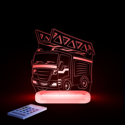 Aloka Lights Fire Engine Red