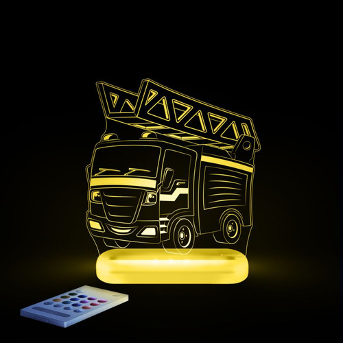 Aloka Lights Fire Engine Yellow