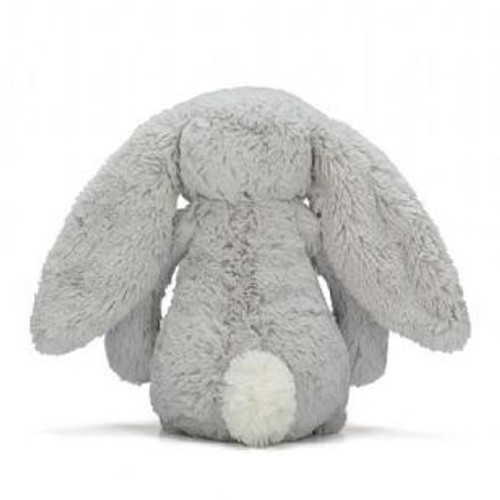 Jellycat Bunny Grey Medium Behind