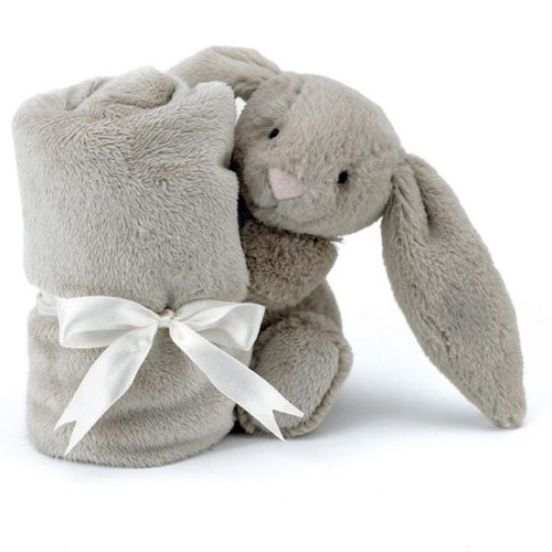 Baby Comforter Australia Jellycat Grey Wrapped