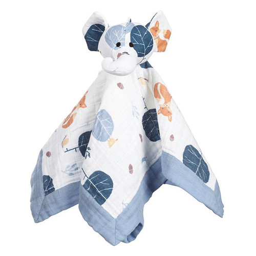 Aden + Anais Organic Musy Mate Lovey - Into the Woods