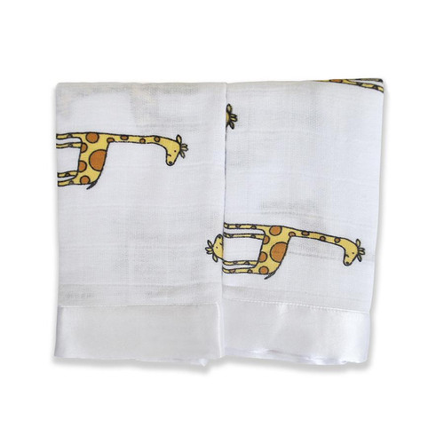 Issie Security Blankets - Jungle Jam Giraffe