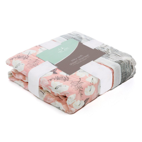 Silky Soft Dream Blanket - Pretty Petals & Soft Petals