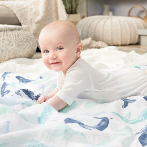 4-Pack Classic Swaddles - Seafaring