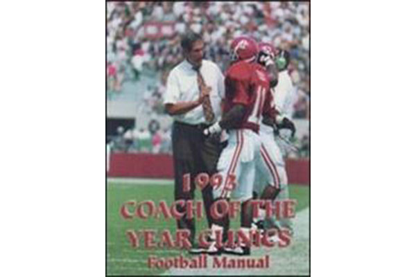 1993 Coach of the Year Clinics Football Manual