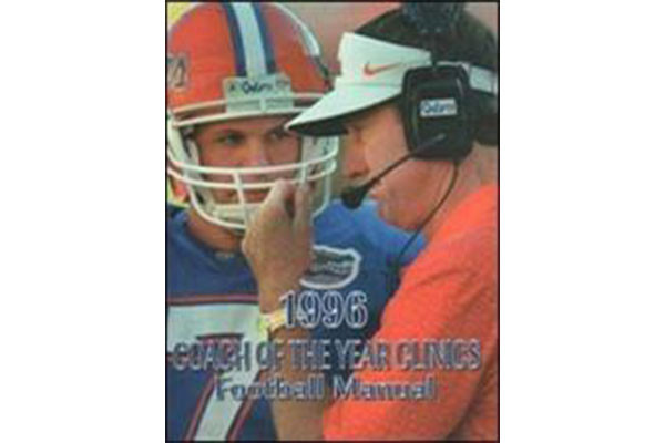 1996 Coach of the Year Clinics Football Manual