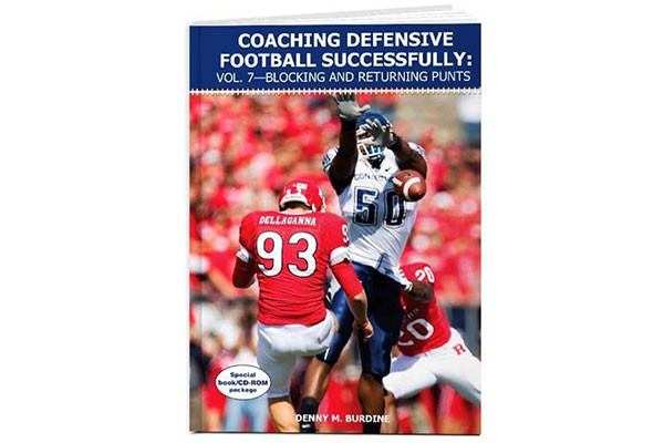 """Coaching Defensive Football Successfully: Vol. 7€""""Blocking and Returning Punts"""