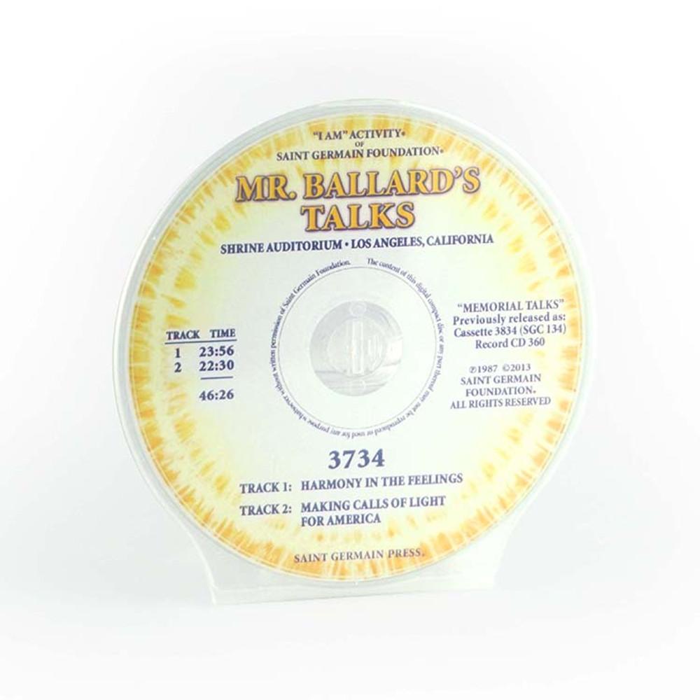 Mr Ballard's Talks - Harmony
