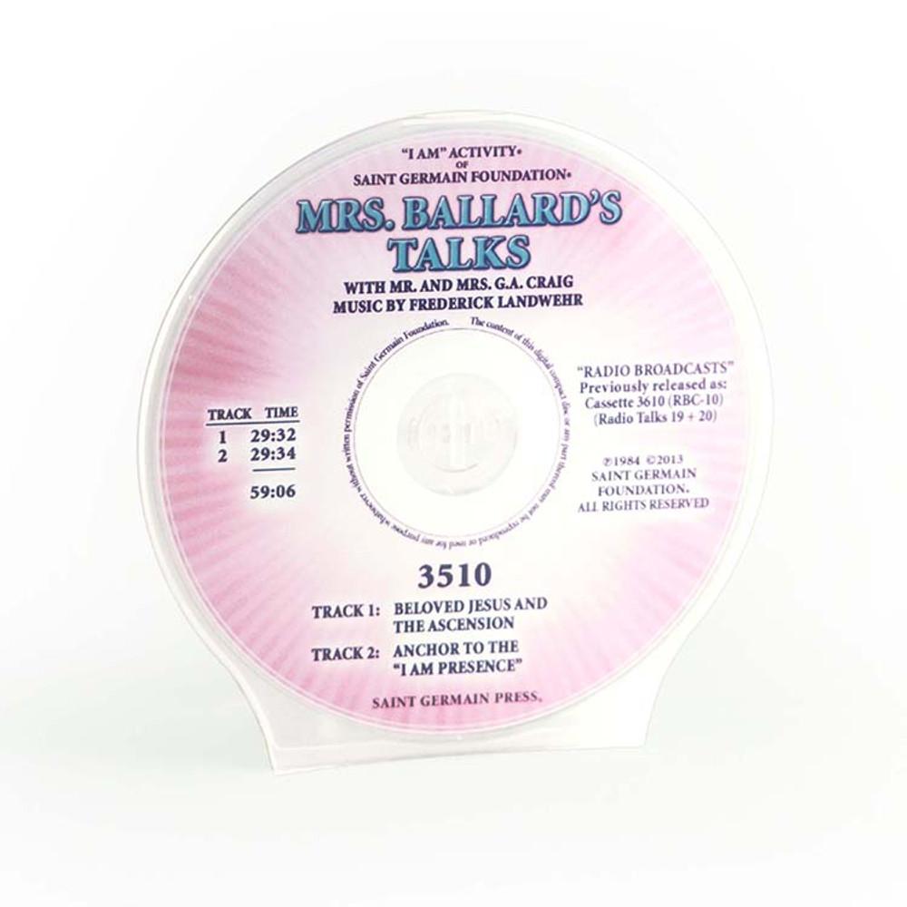 Mrs Ballard's Talks - 19+20