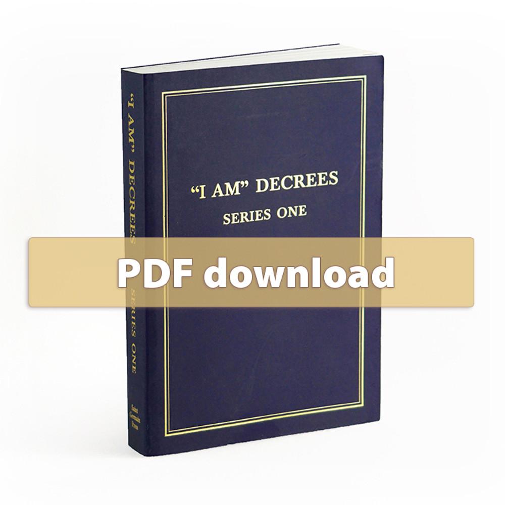 I AM Decrees - Series One - PDF