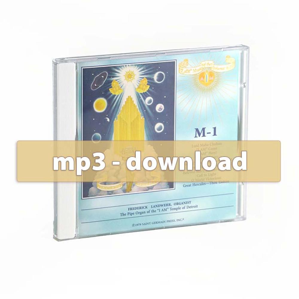 Organ Contemplations I - mp3 album