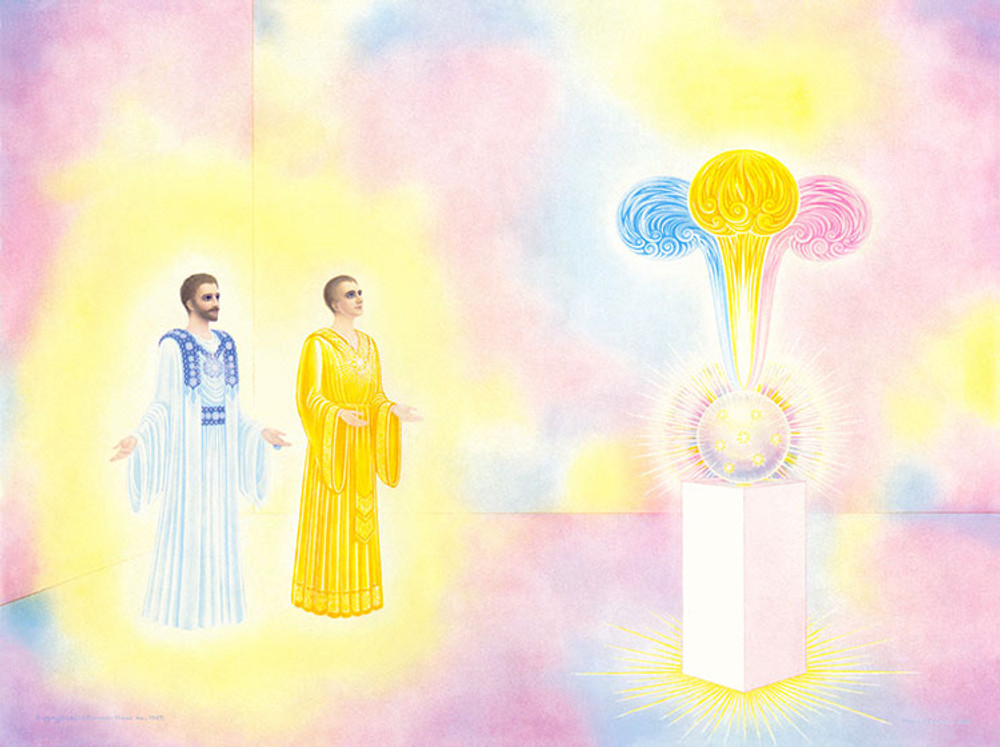 Godfre and Saint Germain  with the Unfed Flame