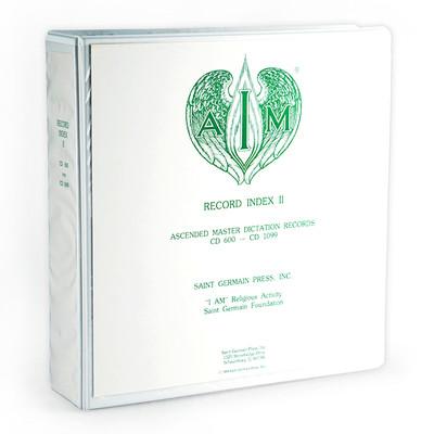 Dictation Record Index