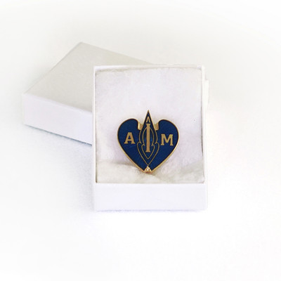 I AM Emblem - Violet Pin-Pendant