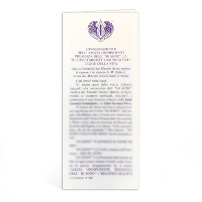 Ascended Master Instruction Italian - 10 pk