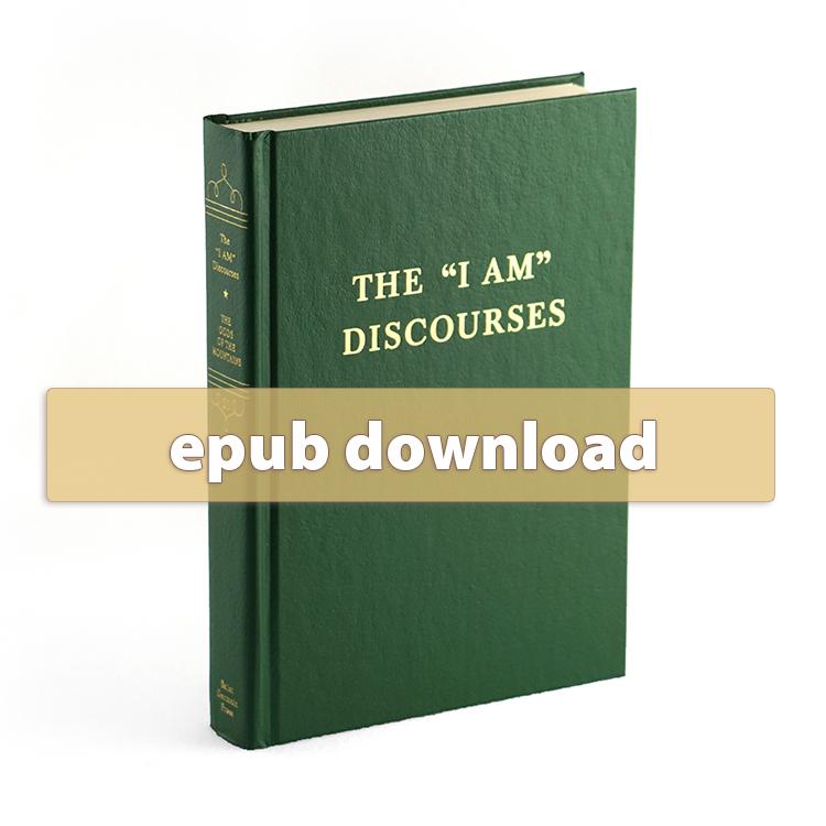 """Volume 20 - The """"I AM"""" Discourses - epub"""