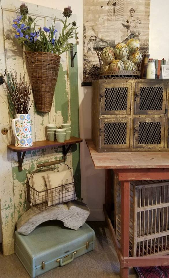 New Addition - Woven Willow Door Baskets