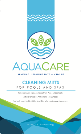 Pack of 4 AquaCare™ Cleaning Mitts
