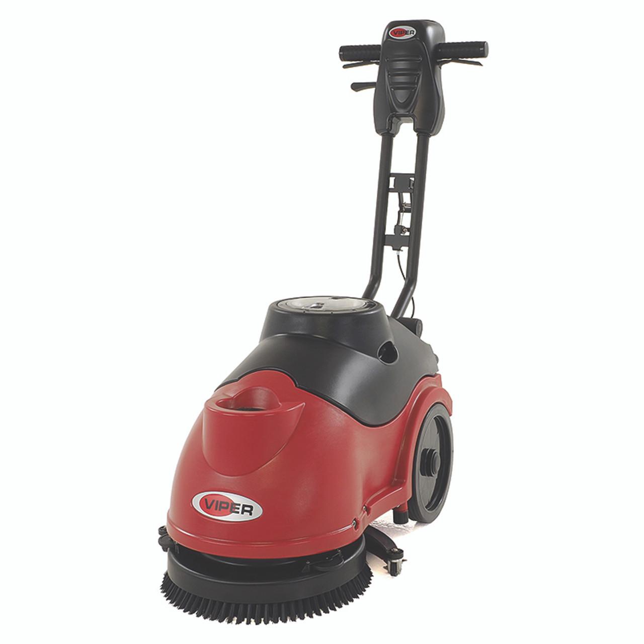Viper FANGB Floor Scrubber Battery Powered Inch Gal - Battery powered scrub brush