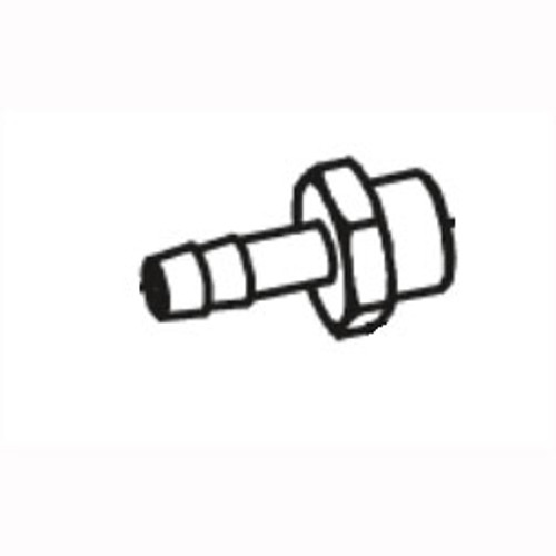 Betco E8155200 Nusource brass fitting .25 inch x 7mm for Vispa 35B or Genie auto scrubber replaces 422186
