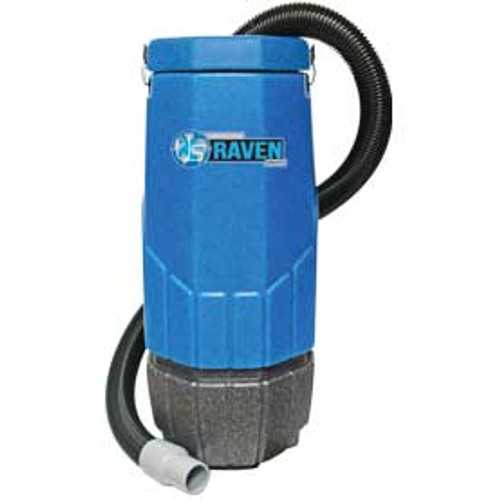 Sandia HEPA Raven 203001 10 quart backpack vacuum with tool kit 1340 watts 1 stage