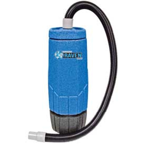 Sandia Avenger Raven 701003 6 quart backpack vacuum with tool kit power head 802 watts 1 stage