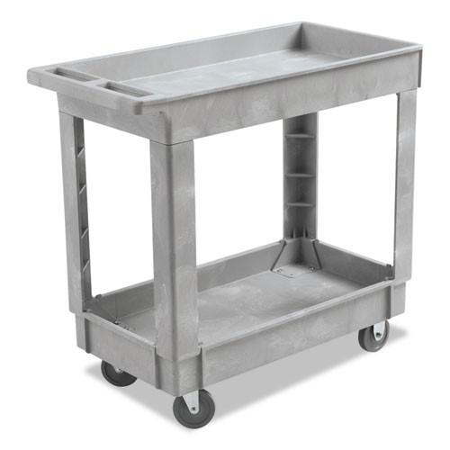 Boardwalk BWK3416UCGRA service utility cart 34x16 300 lbs. capacity gray