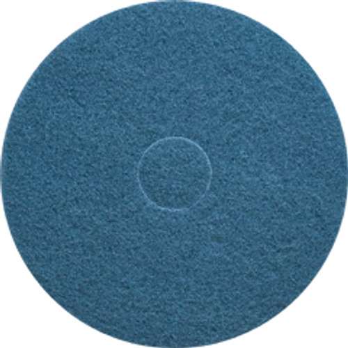 Blue Scrub Floor Pads 20 inch standard speed up to 350 rpm case of 5 pads by Cleaning Stuff 20BLUE GW