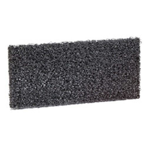3M 8550 Doodlebug High Productivity Black Strip Pads 4.625x10 for heavy duty cleaning and stripping case of 10 pads