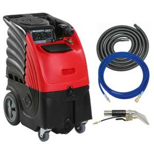 Auto detail upholstery cleaner carpet extractor with heater 6 gallon canister 100psi pump with hand tool hose kit 3 stage motor Cleaning Stuff ad6100h