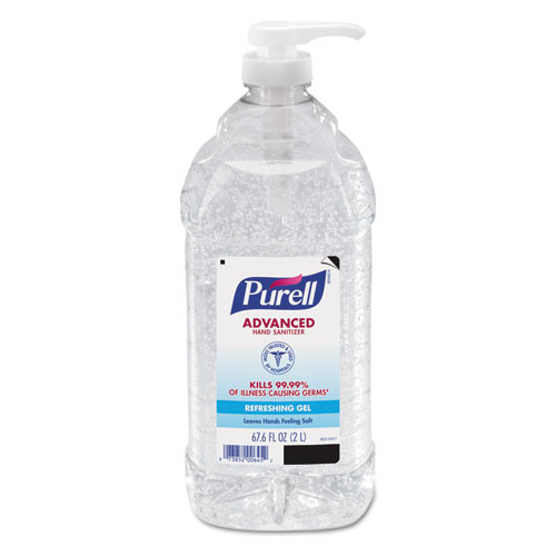 Purell hand sanitizer 2 liter pour or pump