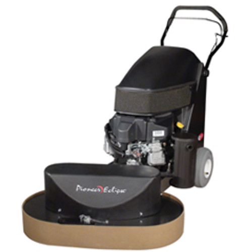 Pioneer Eclipse propane strip buffer 440 series stripper 38 inch twin head with strip brushes 18hp kawasaki 325 rpm 12 volt battery starter with emissions
