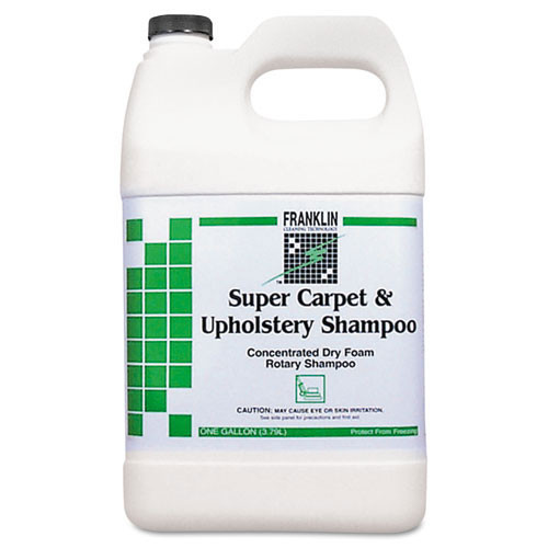 Franklin fklf538022ct Super carpet upholstery shampoo one gallon size case of 4 bottless replaces frkf538022