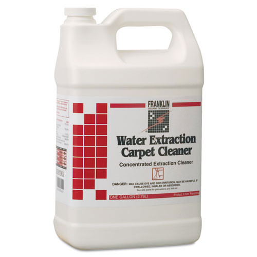 Franklin fklf534022 hot water extraction carpet cleaner heavy duty gallon size case of 4 bottles replaces frkf534022