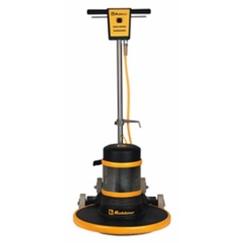 Koblenz B1500FP floor buffer burnisher machine 20 inch with pad holder 1500 rpm ac motor 1.5 hp floating straight handle K0044933