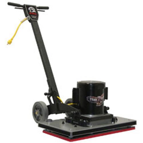 TigerHawk2814 Square Strip Scrub Floor Machine for chemical free floor finish stripping 28x14 1.5hp 1740rpm FTIGER2814