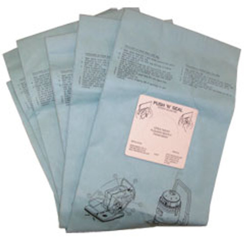5 Bissell 332844PK5 vacuum bags for BGCC28 and BGCC24 pack of 5 bags