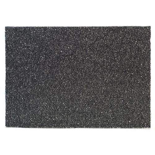 3M 7300 High Productivity black strip floor pads 14x28 inch