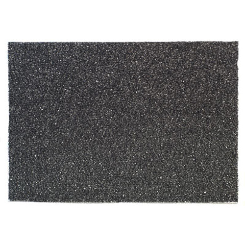 3M 7300 High Productivity Black Strip rectangle floor pads 14x28 inch for high performance stripping off floor finish and wax case of 10 pads gw