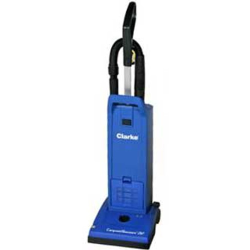 Clarke CarpetMaster 212 vacuum 9060208020 12 inch dual motor upright HEPA with onboard tools